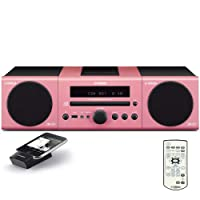 Yamaha MCR-140PI Micro Component System (Pink) from Yamaha Electronics
