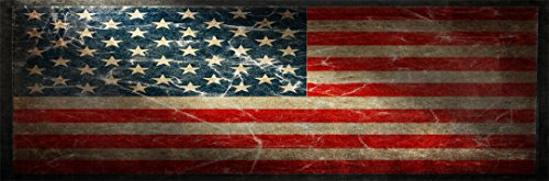 American Flag Version 1 Full Size Rear Truck Window Graphic (Military Rear Window Graphics compare prices)