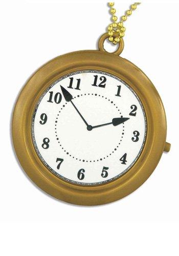 Rapper Clock Necklace