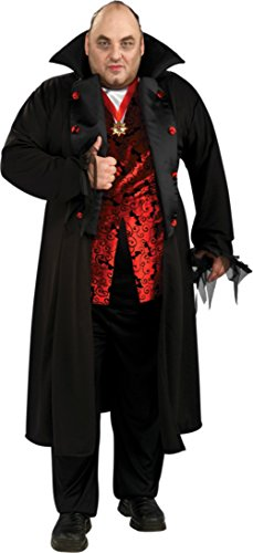 Rubies Mens Scary Royal Vampire Theme Party Fancy Dress Halloween Costume