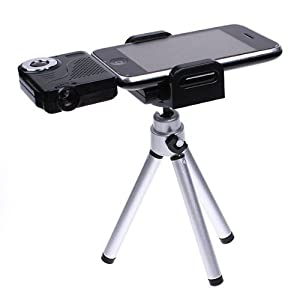 Click Here For nice Size Mini Portable Multimedia Pocket Cinema Pico Projector for Ipod Iphone + Tripod