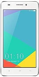 Xillion Xone X400W Dual Sim Andriod 5.0 Lollipop Smart Phone with 1.3 GHz Processor, 8 MP Camera and 5 Inch Screen (White)
