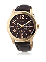 Guess Reloj de cuarzo Man W0008G3 Marrón 45 mm