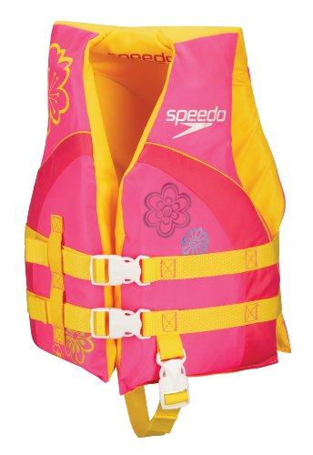 Speedo Kid's Personal Flotation Device, Pink,