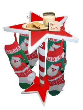 Stocking Caddy, Christmas Stocking Holder Stand