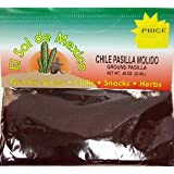 Ground Pasilla Chili Powder by El Sol de Mexico .80 oz