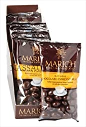 Marich Chocolate Espresso Beans 1.76 Oz. - Pack Of 12