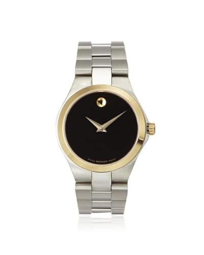 Movado Women's 0606560 Black Two-Tone Stainless Steel Watch