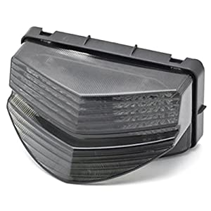 2001-2003 Honda CBR 600 F4i LED TailLights Brake Tail Lights with Integrated Turn Signals Indicators Smoke Motorcycle