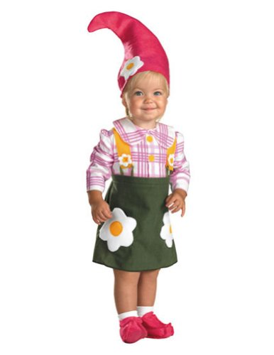 Baby-Toddler-Costume Flower Garden Gnome Toddler Costume 2T Halloween Costume