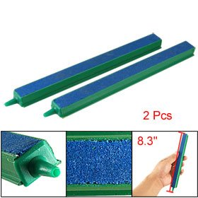 2 Pcs Fish Tank Air Bubble Airstone Bar 8
