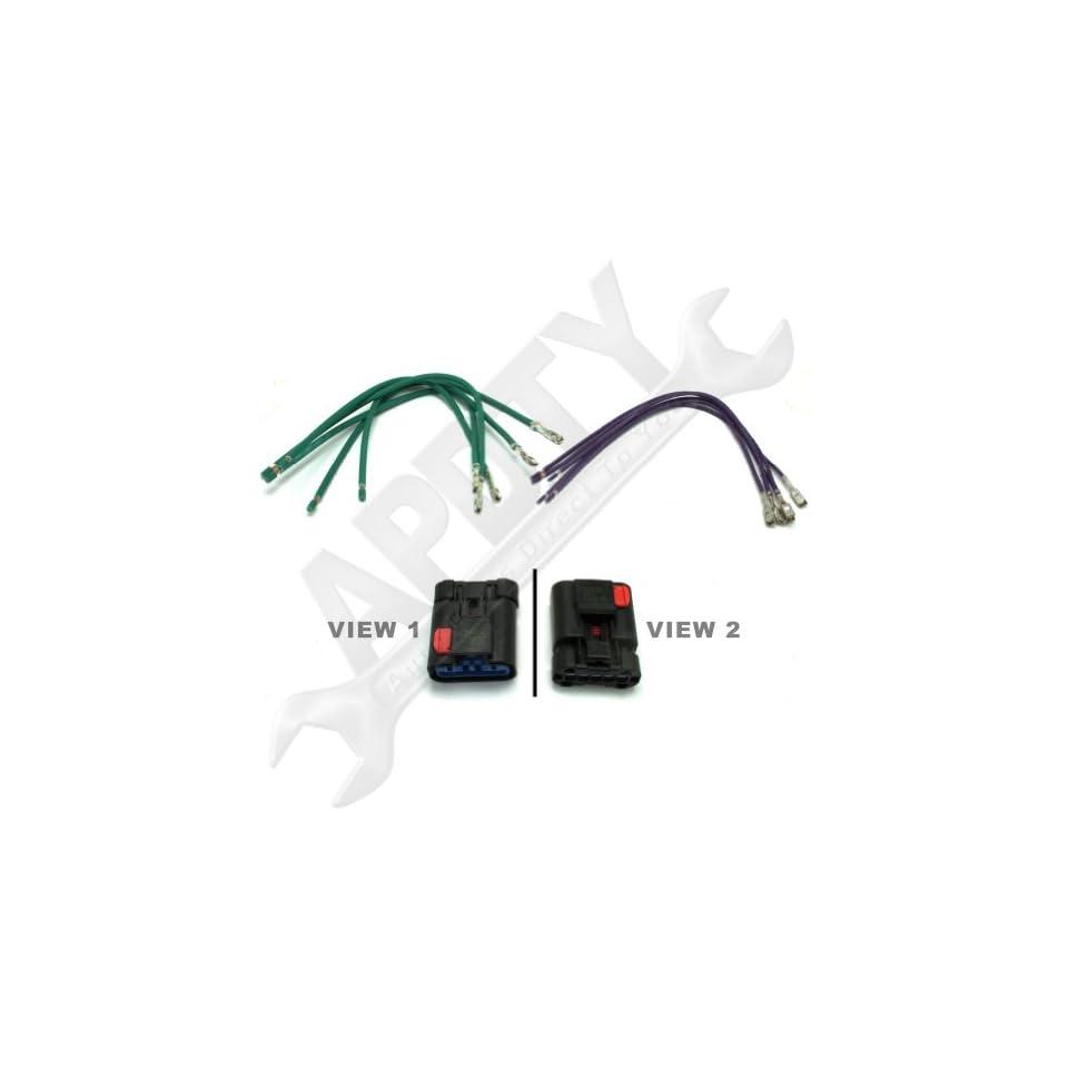 Hvac Blower Motor Resistor Wiring Harness Pigtail Connector Repair Kenwood Kdc Bt752hd Diagram Apdty 5017124ac