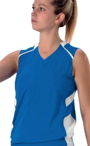 Alleson 539JW Women s Varsity Custom Basketball Jerseys RO/WH - ROYAL/WHITE WL p76 420 women s basketball size 6