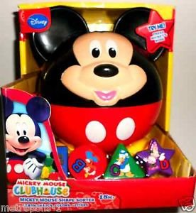 Mickey Mouse Clubhouse Shape Sorter - 1