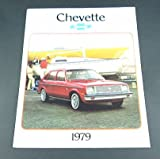 1979 79 Chevrolet Chevy CHEVETTE BROCHURE Coupe Sedan