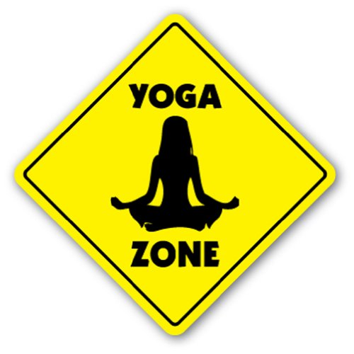 Yoga Sign Board