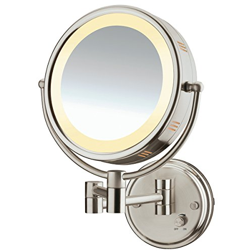 Conair Lighted Bronze Wall Mount Mirror