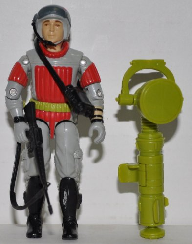 Vintage Sneak Peak With Microphone, Tower, Handle, Binoculars, & Weapon (1987) - Hasbro Action Figure - Doll Toy G I Joe Cobra - Loose Out Of Package & Print (Oop)