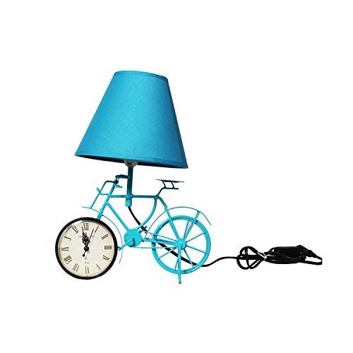 The Crazy Me Lighten Up Your Time Vintage Cycle Lamp (Blue)