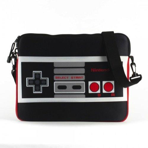 Nintendo Classic Controller Black Messenger Bag