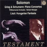 Grieg, Schumann: Piano Concertos; Liszt: Fantasia on Hungarian Folk Themes