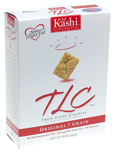 Kashi TLC Crackers, Original 7 Grain, 9-Ounce Box