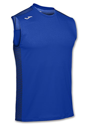 JOMA T-SHIRT HYBRID ROYAL SLEEVELESS M