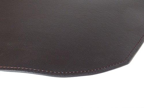 TASTO: tappeto in ecopelle ignifuga classe 1-IM, certificazione internazionale, colore Testa di Moro.