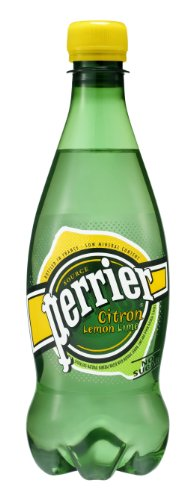 Perrier Sparkling Natural Mineral Water, Citron/Lemon Lime 16.9-Ounce Plastic Bottles (Pack Of 24) front-546872