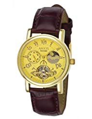 Aatos AdelaLGG - Reloj de caballero automático, correa de piel color ...