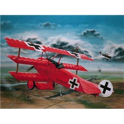 Revell-Modellbausatz-04744-Fokker-DrI-Richthofen-im-Mastab-128