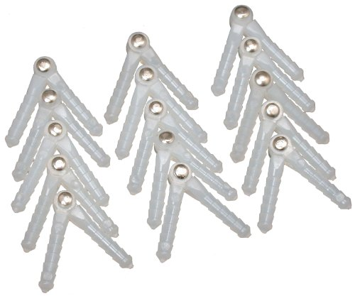 Great Planes Medium Pivot Point Hinge (15-Piece)