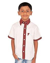 Gkidz Small Checked Collar Shirt for Boys