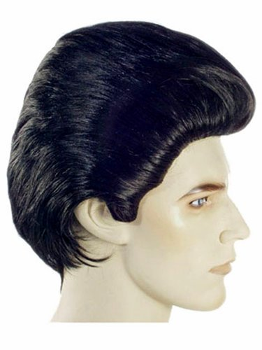 Costume Adventure Men's Deluxe Danny Grease Style Ducktail Costume Wig