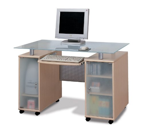 Buy Low Price Comfortable New Natural Finish Modern Computer Desk Office Table Work Station (B000BW285W)