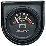 Auto Meter 2356 Autogage Electric Voltmeter Gauge