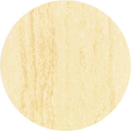 Werzalit / hochwertige Tischplatte / Travertin / runde Form 70 cm / Bistrotisch / Bistrotische / Gartentisch / Gastronomie online bestellen