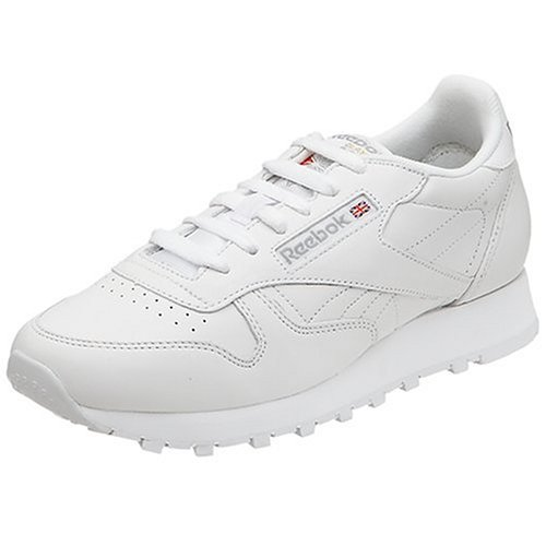 Reebok Women's Classic Leather Sneaker, White, 7 M (Reebok Leather Classic compare prices)
