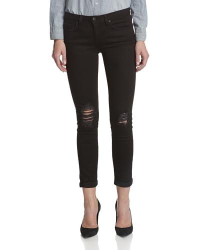 A.N.D. Denim Women's Bailey Rolled Skinny Jeans