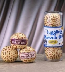Juggling Passover Matzah Balls