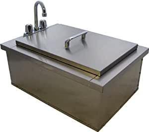 Drop In Bar Sink With Faucet Condiment Holders Outdoor K
