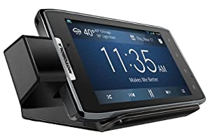 Motorola HD Dock with Rapid Wall Charger for DROID RAZR - Retail Packaging - Black