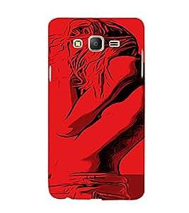 PrintVisa Cool Girl 3D Hard Polycarbonate Designer Back Case Cover for Samsung Galaxy On 7