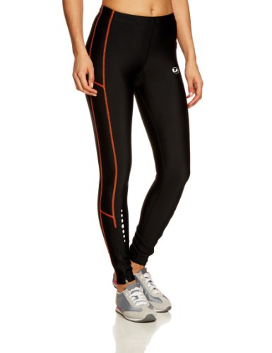 Ultrasport Women's Running Pants Long with Quick-Dry-Function - M, Black