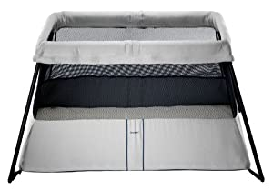 BABYBJORN Travel Crib Light 2, Silver
