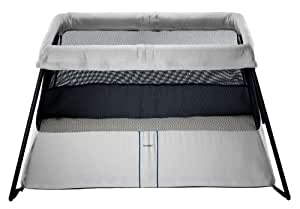 BABYBJORN Travel Crib Light 2, Silver (Discontinued by Manufacturer)
