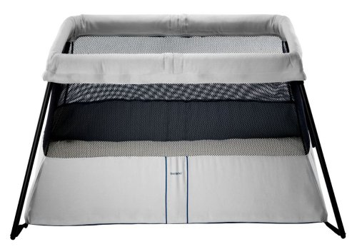 Best Price! BABYBJORN Travel Crib Light 2, Silver