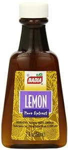 Badia Lemon Extract Dessert, 2 Ounce (Pack of 12)