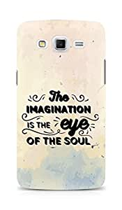 AMEZ The Imagination is the Eye of the Soul Back Cover For Samsung Galaxy Grand Max