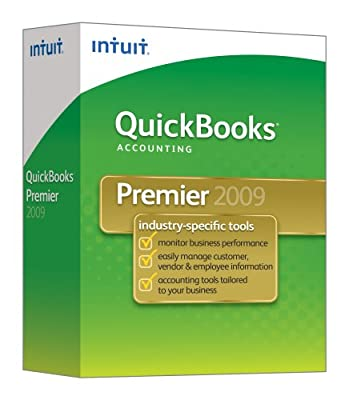 QuickBooks Premier Edition 2009 [OLD VERSION]
